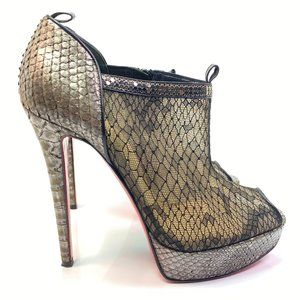 Christian Louboutin Brigette 140 Booties 7.5